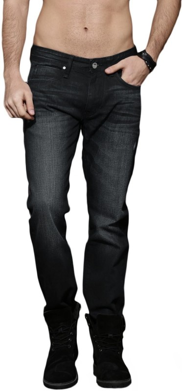 Roadster Regular Men Black Jeans