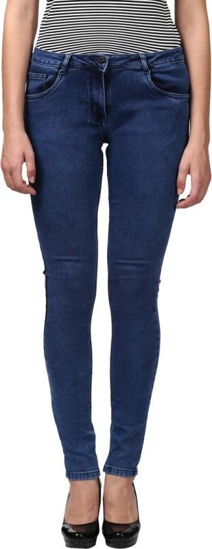 Park Avenue Skinny Women Blue Jeans