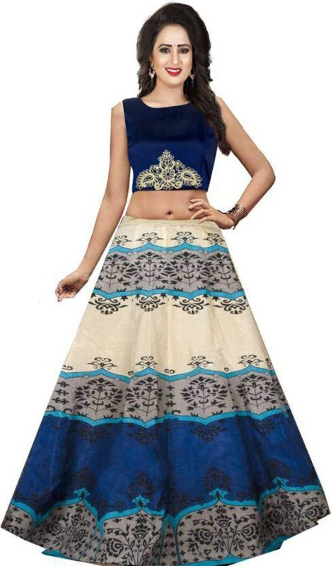 KUSUM FASHION Printed Lehenga Choli(Multicolor)