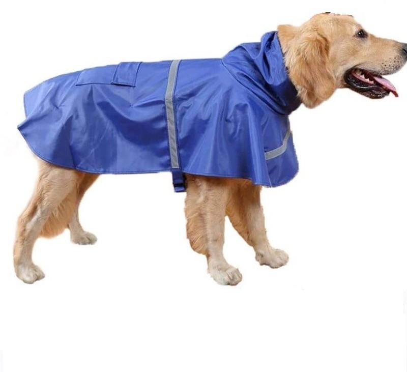 Birds' Park Dog Rain Coat High Neck for Labrador, Dalmatiam & medium sized pet SIZE: 28 No
