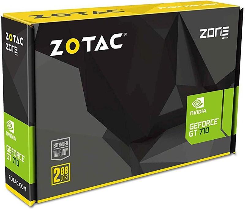 ZOTAC NVIDIA Geforce 2 GB GDDR3 Graphics Card