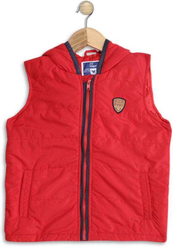 612 League Sleeveless Solid Boys & Girls Jacket