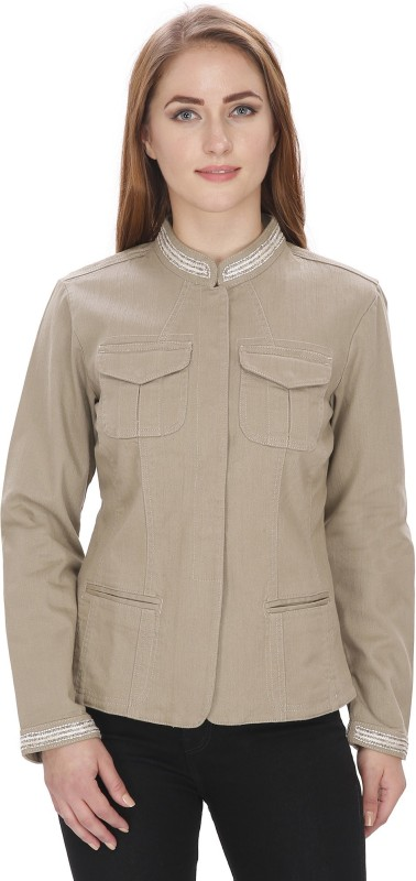 MansiCollections Full Sleeve Solid Women Jacket