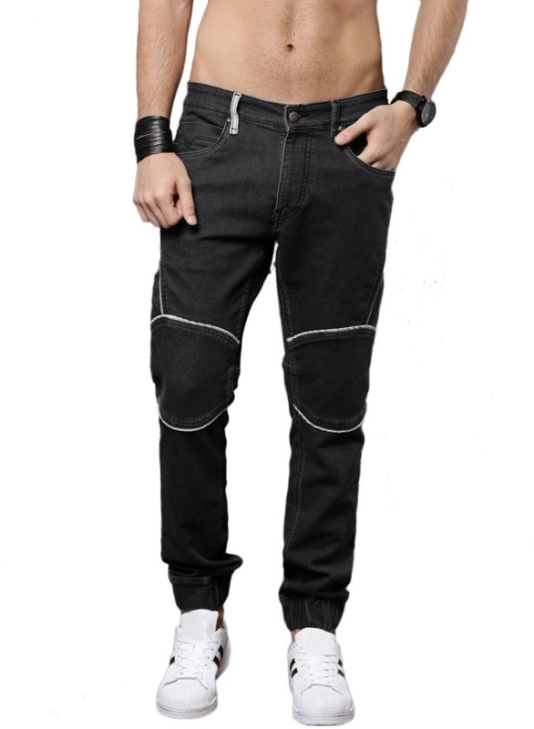 Roadster Jogger Fit Men Black Jeans