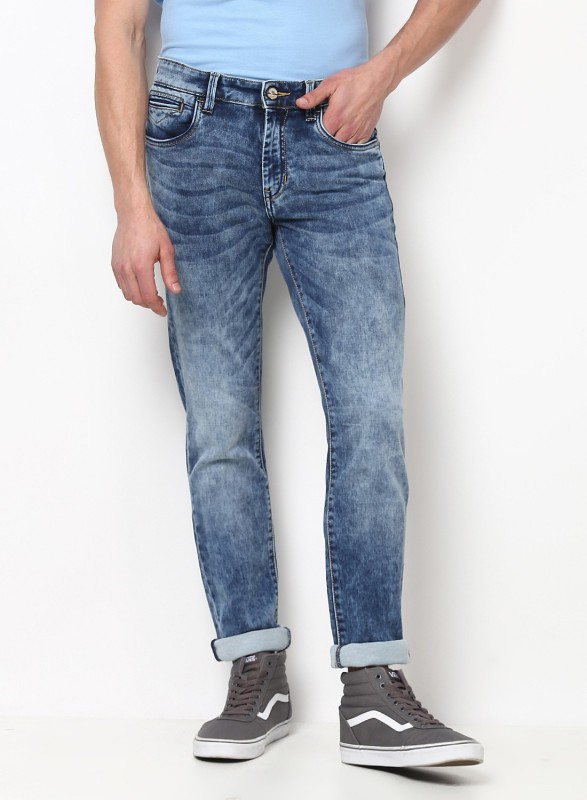 Monte Carlo Regular Men Light Blue Jeans