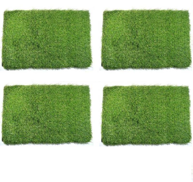 Shreejee Artificial Grass Door Mat(Green, Small)