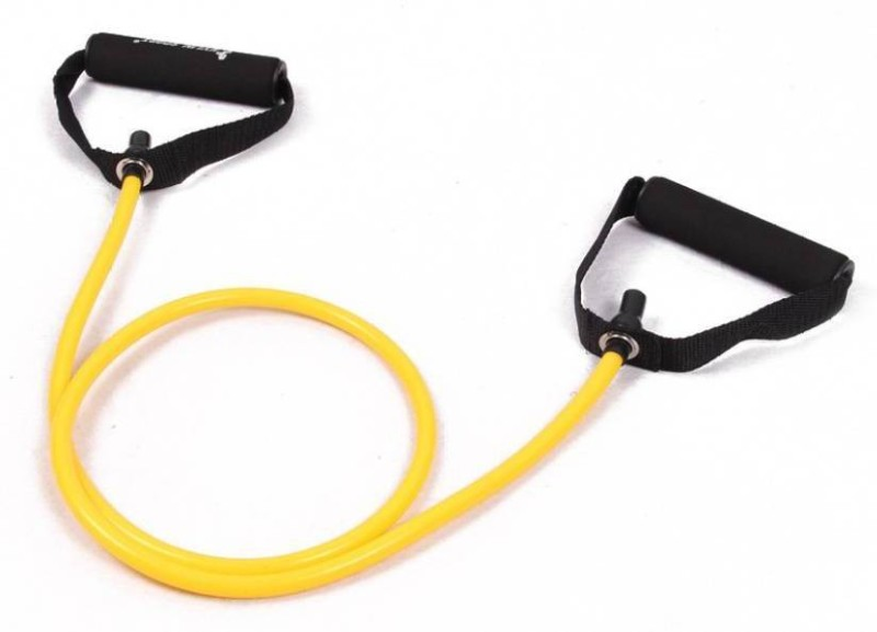 Sports Solutions Premum Pro Yellow For Toghtening and Toning Resistance Tube(Yellow)
