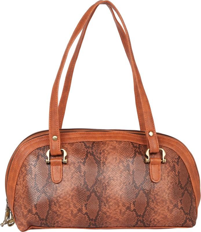 TARUSA Women Brown Shoulder Bag