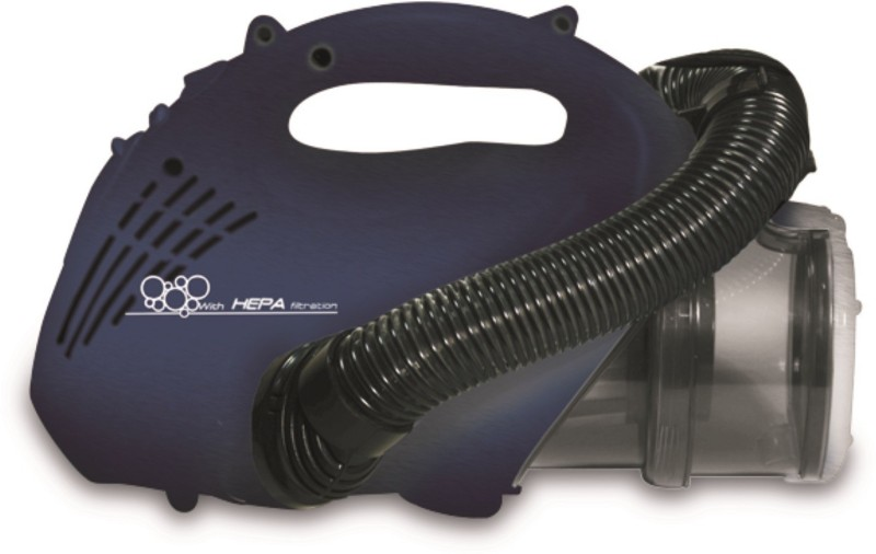 Euroclean Bravo Dry Vacuum Cleaner(Black, Blue)