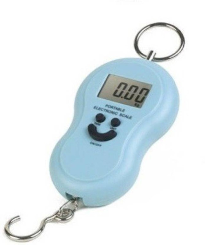 Ziork Portable Electronic 50 Kg Weighing Scale (Multicolor) Weighing Scale(blue black orange)