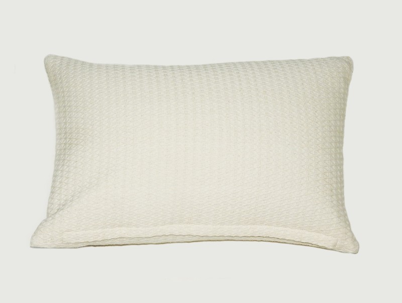 Kanyoga Cotton Buckwheat Hull Filled Relaxing Pillow (46 x 30 CM) Yoga Blocks(White Pack of 1)