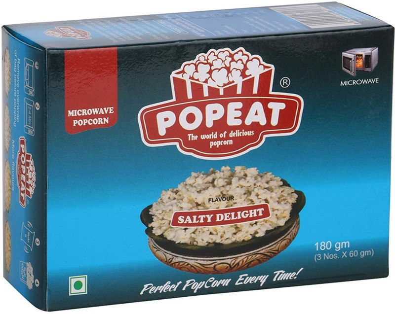 PopEat Salty Delight Salty Delight Popcorn(360 g, Pack of 2)