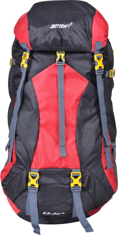 Justcraft Force Rucksack - 65 L(Red)
