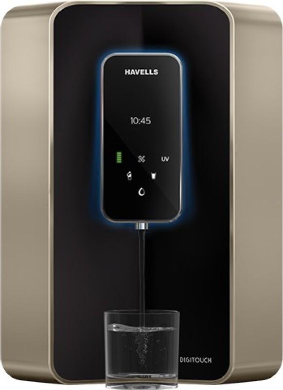 Havells GHWRZDO015 6 L RO + UV + UF + TDS Water Purifier(Black)