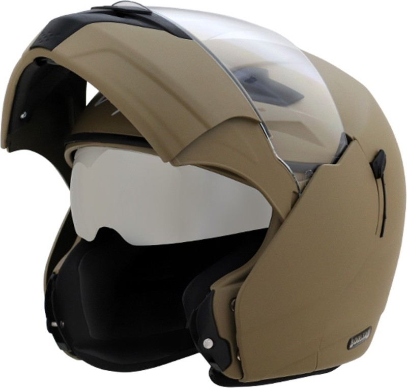 VEGA BOOLEAN FLIP UP DULL DESERT STORM Motorbike Helmet(DULL DESERT STORM)