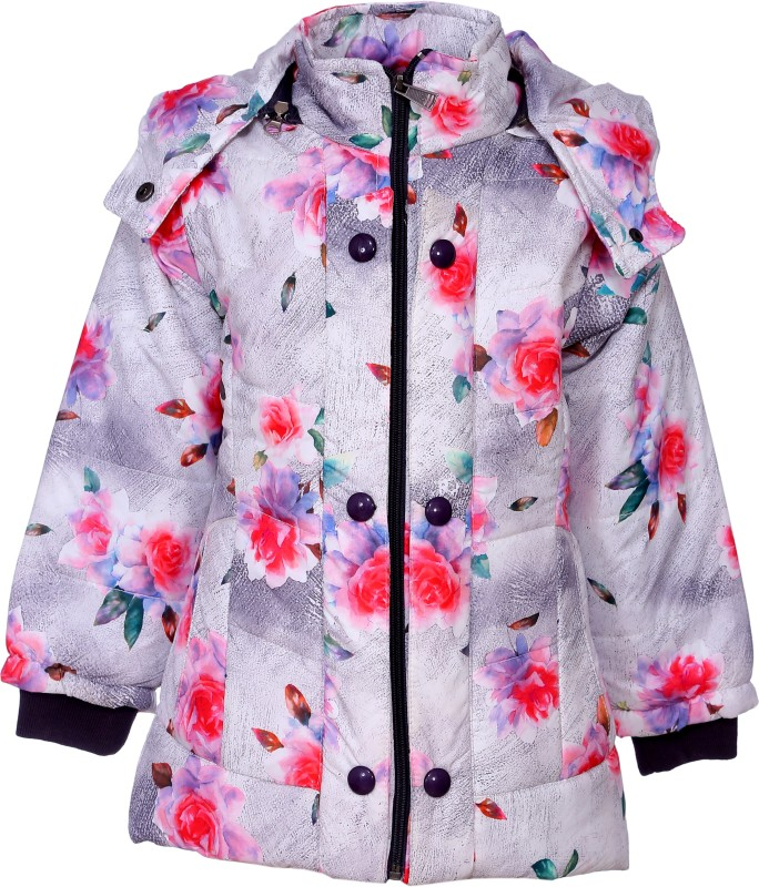 Come In Kids Full Sleeve Printed Girls Jacket