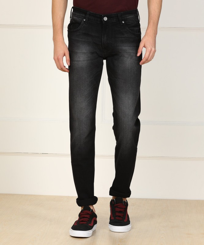 French Connection Slim Mens Black Jeans