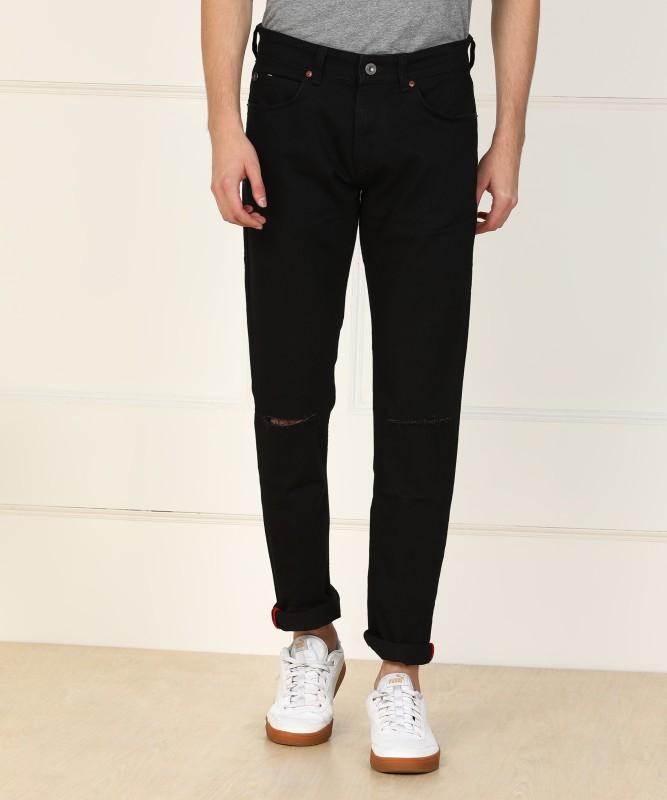 French Connection Slim Men Black Jeans