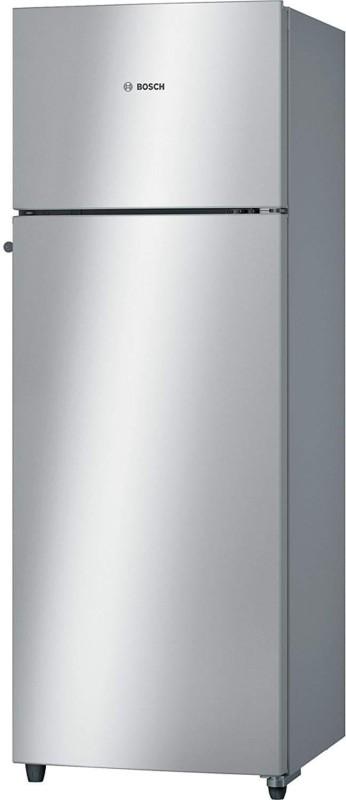 Bosch 290 L Frost Free Double Door 2 Star (2019) Refrigerator(Silver, KDN30VS20I)