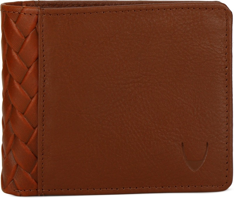 Hidesign Men Tan Genuine Leather Wallet(8 Card Slots)
