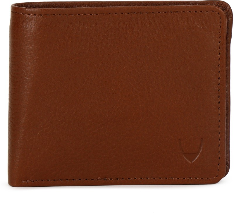 Hidesign Men Tan Genuine Leather Wallet(4 Card Slots)