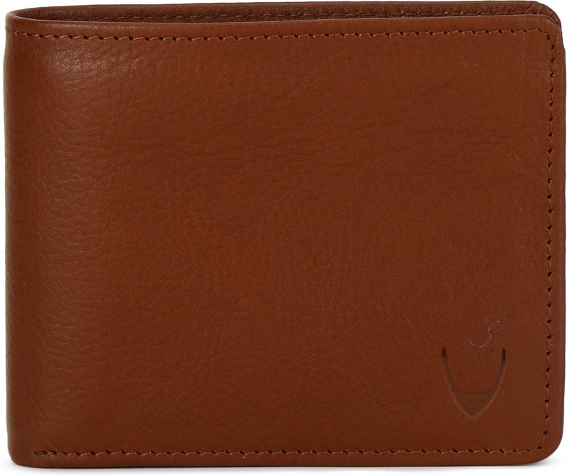 Hidesign Men Tan Genuine Leather Wallet(9 Card Slots)