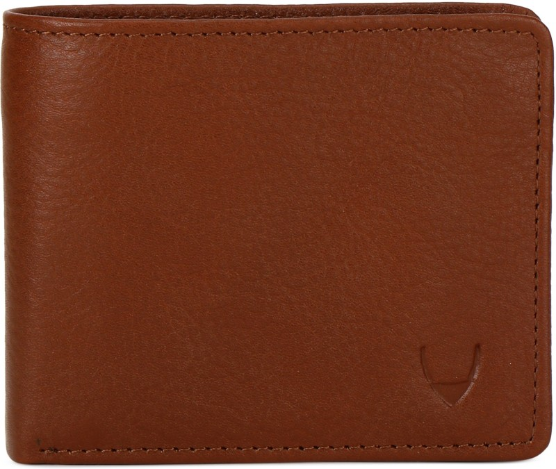 Hidesign Men Tan Genuine Leather Wallet(6 Card Slots)