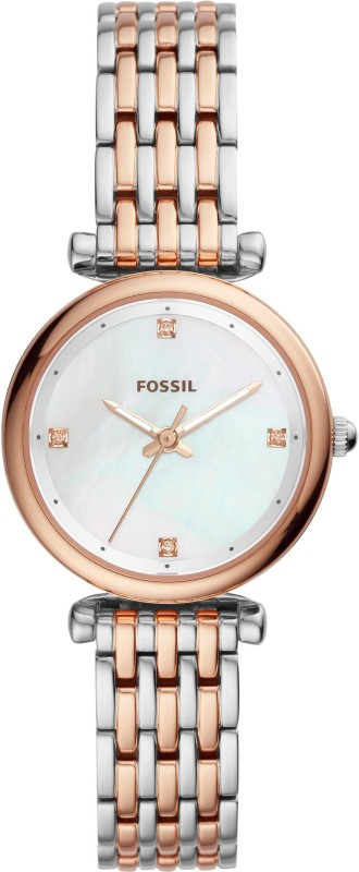 Fossil ES4431 Carlie Analog Watch - For Women
