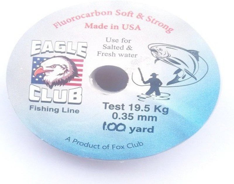JUST ONE CLICK Fluorocarbon Fishing Line(Multicolor)