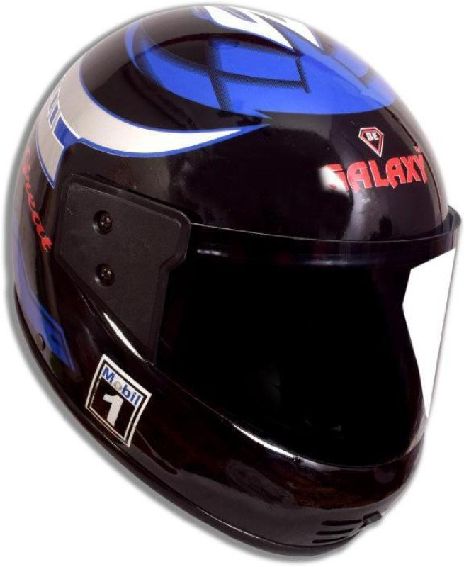 Galaxy Great ( isi approved ) Motorbike Helmet(Black)
