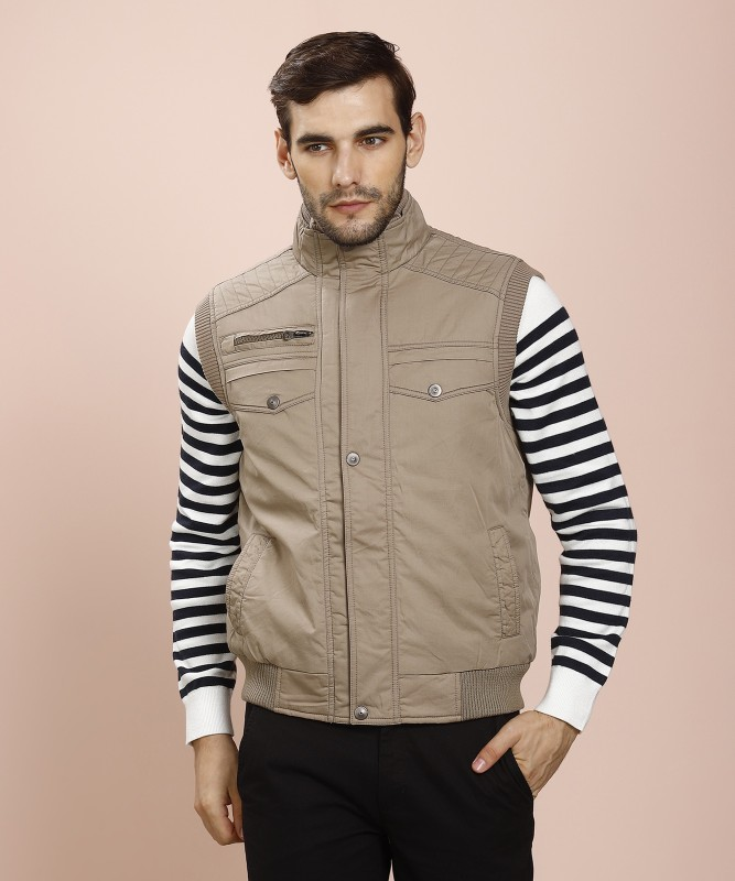 Fort Collins Sleeveless Solid Mens Jacket