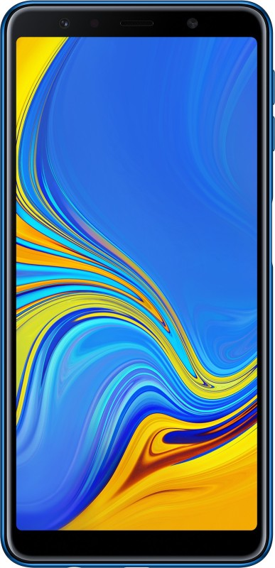 Samsung Galaxy A7 (Blue, 128 GB)(6 GB RAM)