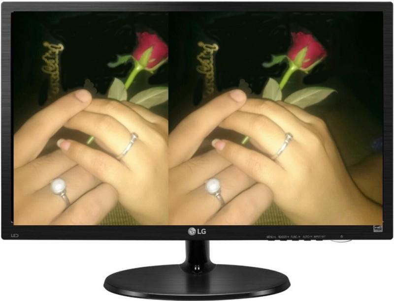 LG 18.5 inch HD LED Backlit Monitor (19M38HB- BB)