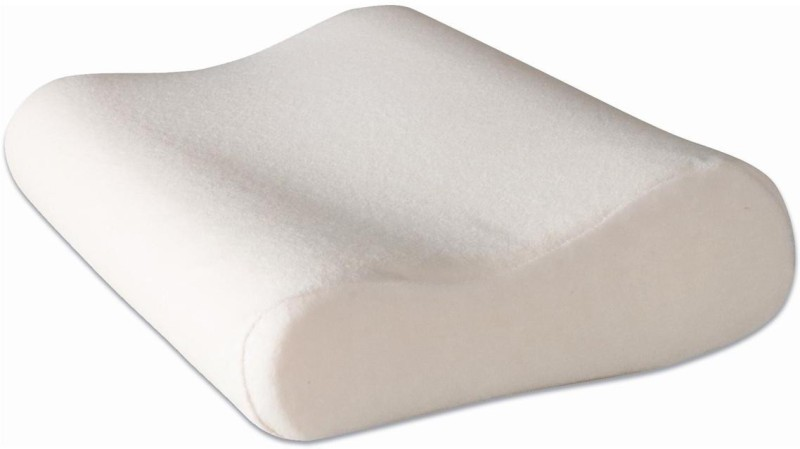 YORSALE Solid, Plain Bed/Sleeping Pillow Pack of 1(White)