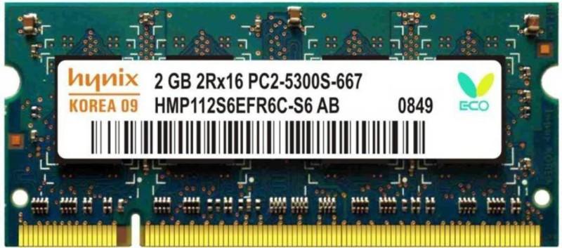 Hynix Genuine DDR2 2 GB (Single Channel) Laptop (2GB LAPTOP RAM)
