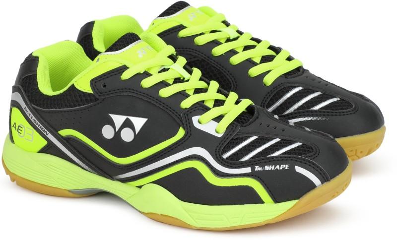 Yonex SRCP AE 03 Badminton Shoes For Men(Black)