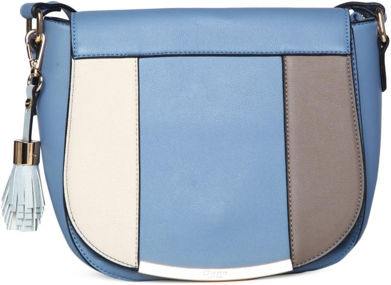 Dune London Blue Sling Bag
