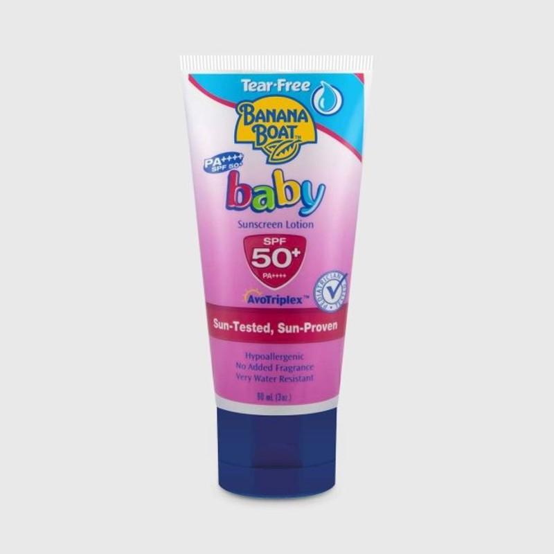 Banana Boat Baby PA++++ Spf 50+ AvoTriplex Sunscreen Lotion - SPF 50+ PA+++(90 ml)
