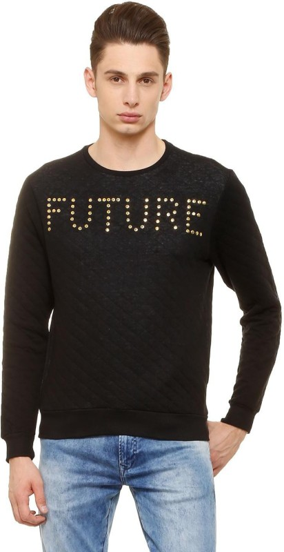 People Full Sleeve Embellished Men Sweatshirt