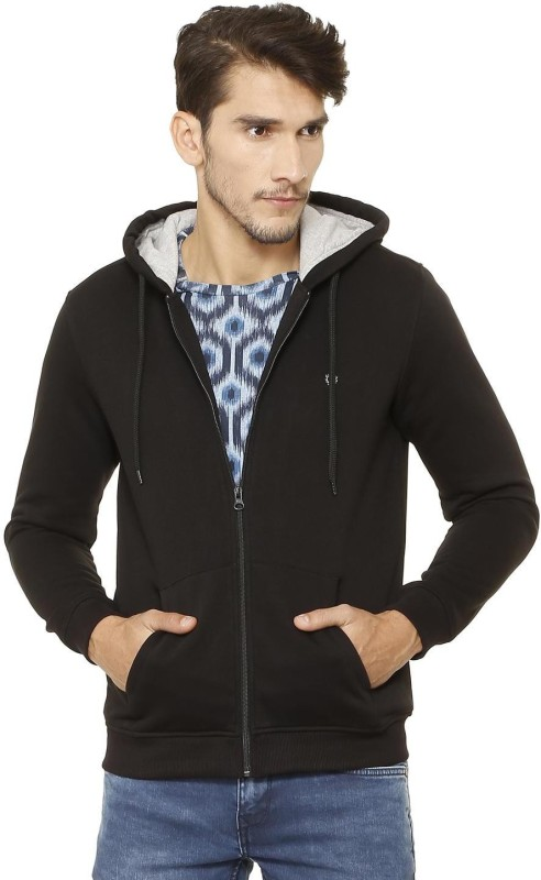 Allen Solly Full Sleeve Solid Men Sweatshirt