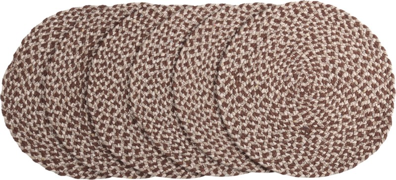 Flipkart SmartBuy Pack of 6 Table Placemat - Brown(Brown, Cotton)