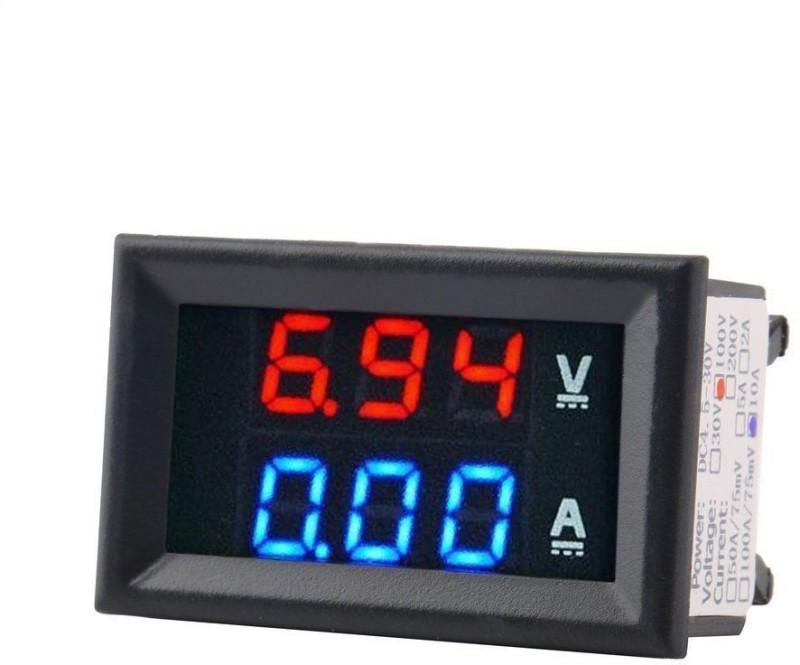 VGS MARKETINGS Digital Voltmeter Ammeter DC 100V 10A Panel Amp Volt Current Meter LED DISPLAY Voltmeter Ammeter DC 100V 10A Panel Amp Volt Display Ammeter
