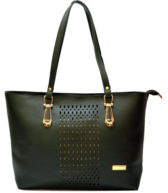 BAGIZZA Women Green Shoulder Bag