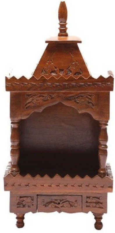 Shilpi Wooden Home Temple(Height: 53 cm)