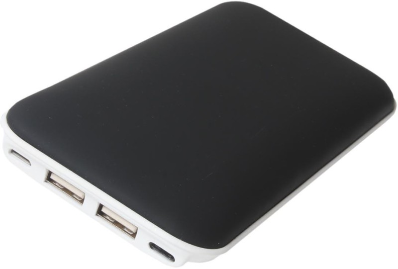 Callmate 6000 Power Bank (YM89 Dancing light, YM89)(Black, Lithium Polymer)