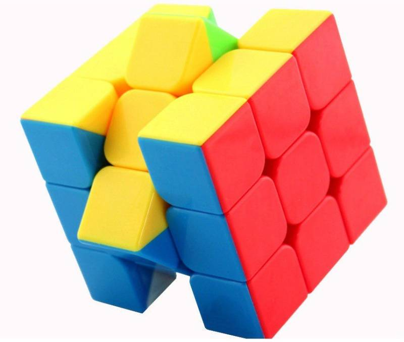 Miss & Chief High Speed Stickerless 3x3 Magic Rubik Cube...