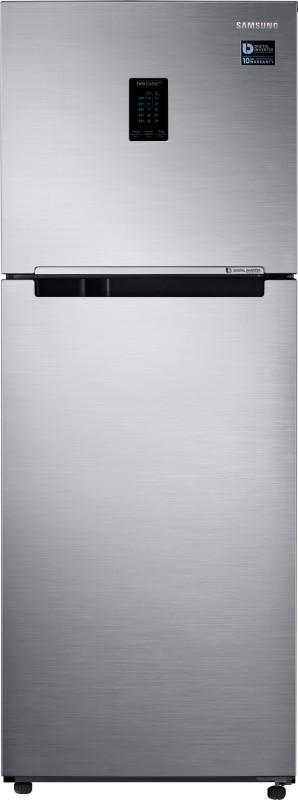 Samsung 324 L Frost Free Double Door 3 Star Convertible Refrigerator(Elegant Inox, RT34M5538S8/HL)