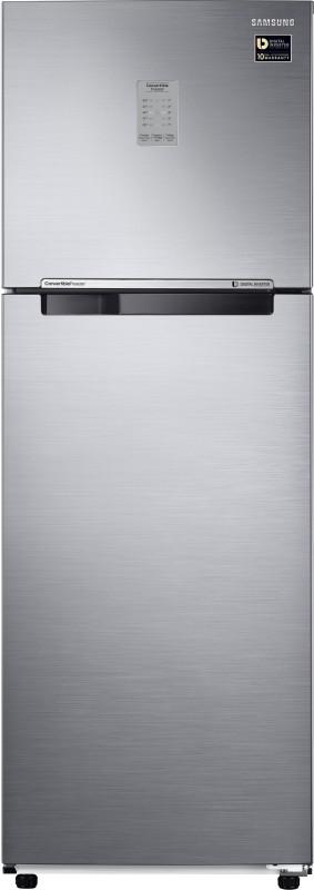 Samsung 275 L Frost Free Double Door 3 Star Refrigerator(Elegant Inox, RT30K3723S8/NL,RT30K3723S8/HL)