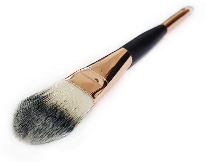 Bueno Professional Face Contouring Brush For Salon And Parlour, Double Side Makeup Brush For Girls And Women, Home Use Brush, Pack Of !(Pack of 1)