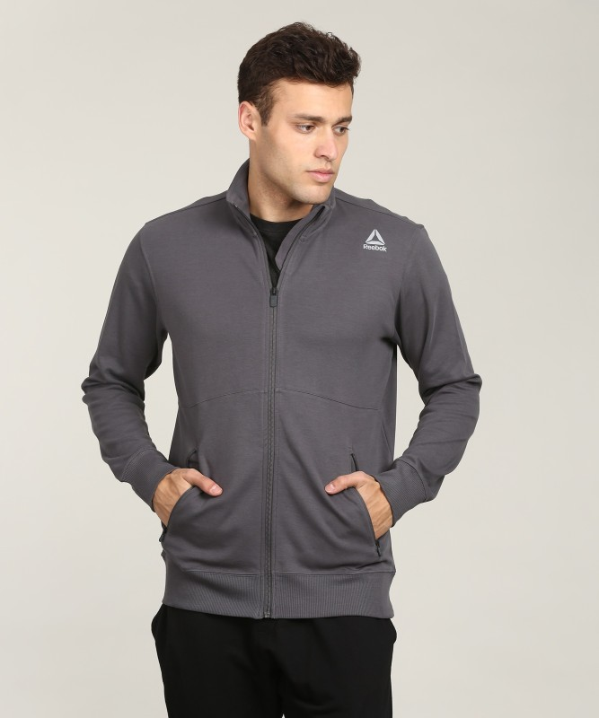 REEBOK Full Sleeve Solid Men Jacket